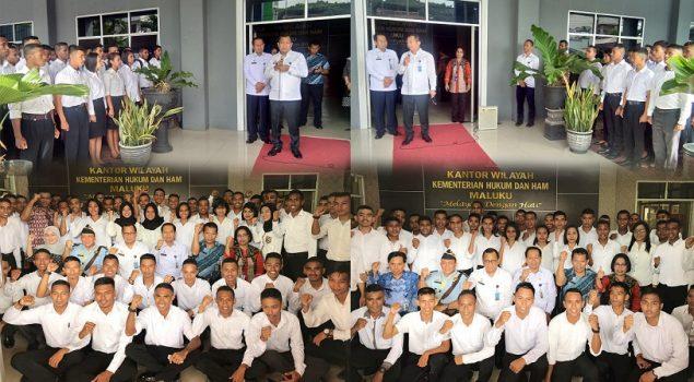 Bambang Rantam Ajak CPNS Maluku Bangun Kemenkumham