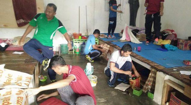 Jajaran Pengamanan Rutan Majene Geledah Kamar WBP