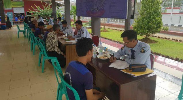 PK Bapas Bandung Bantu Litmas Pos Bapas Lapas Warungkiara