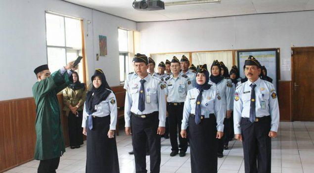 Usai Dilantik, PK Bapas Bandung Teken Pakta Integritas
