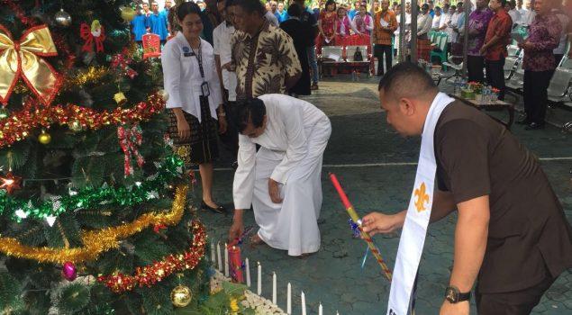 Natal di Lapas Kupang Dihadiri Walikota Kupang