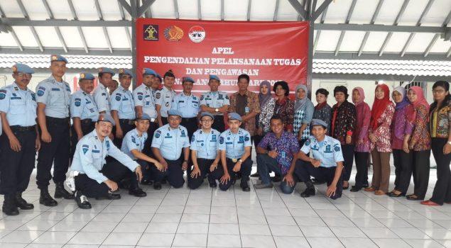 Karutan Wates: Menjaga Keamanan Tugas Semua Petugas