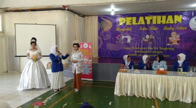 WBP Lapas Perempuan Tangerang Dilatih Jahit, Tata Rias, dan Babby Sitter