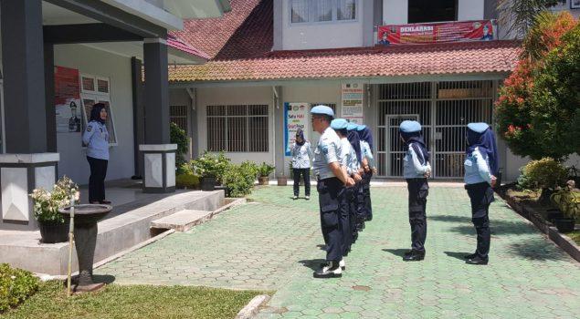 Penguatan Rutin bagi Petugas Cegah Kerusuhan di Lapas