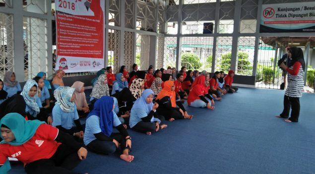 Rutan Balikpapan Perkuat Mental WBP Perempuan dengan Pendampingan Psikologis