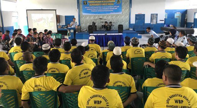 Lapas Narkotika Lampung Sepakati MoU dengan 9 Instansi