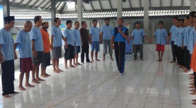 Dinamika Kelompok Cegah WBP Rutan Wates Langgar Aturan