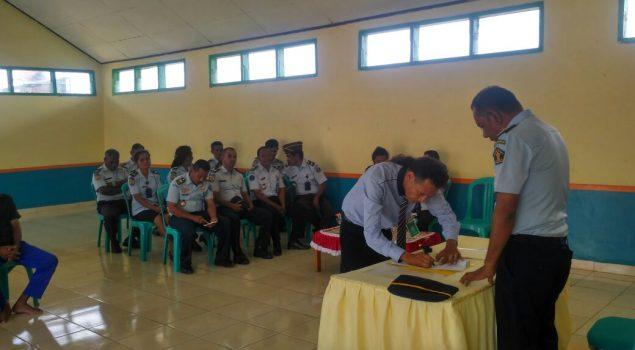 Karutan SoE dan Ketua Posbakumadin SoE Sepakat Berikan Bantuan Hukum Gratis Kepada WBP