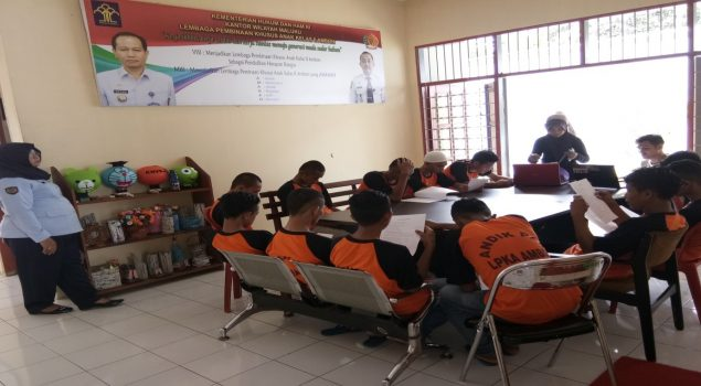 Anak LPKA Ambon Dapat Pelatihan Bahasa Inggris