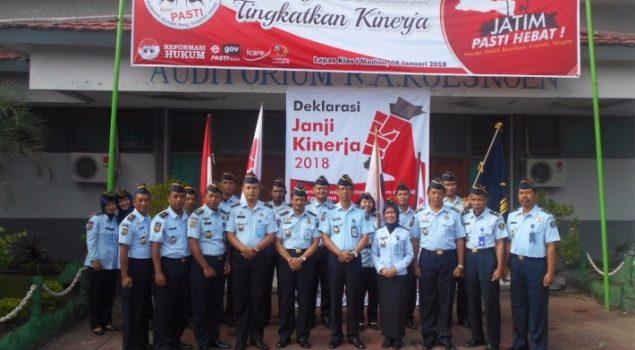 Prestasi Tahun 2017 Jadi Penyemangat Lapas Madiun