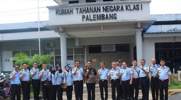 Wujudkan Pelayanan Prima, Lapas Pekanbaru Studi Banding ke UPT PAS Palembang