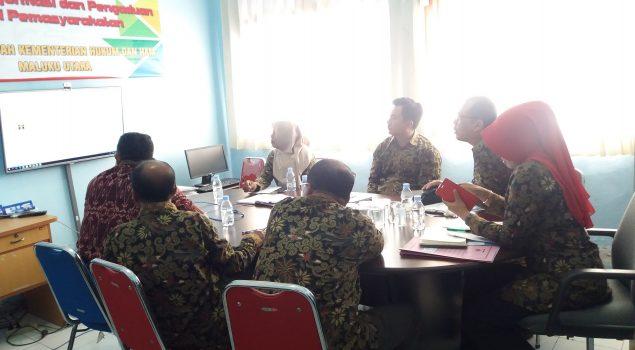 Divisi PAS Maluku Utara Optimalkan Pemenuhan Hak WBP Berbasis Online