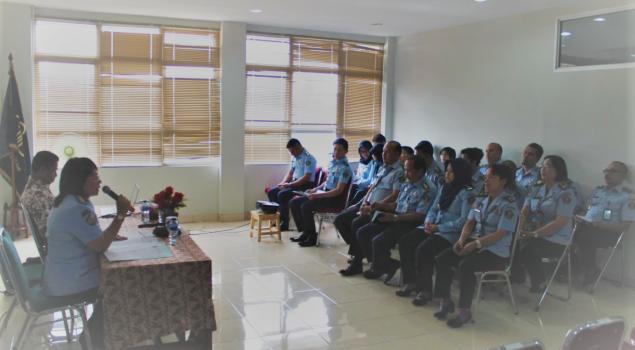Bapas Jakarta Pusat Gelar Penguatan Kapasitas JFT PK