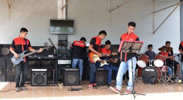 Pastika Band Tumbuhkan Kreativitas Musik WBP
