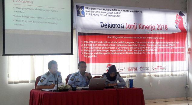 Rupbasan Bandung Prioritaskan Registrasi Basan Baran Berbasis Elektronik