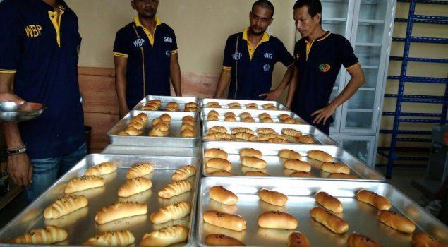 Lapas Batam Mulai Produksi Roti Butan WBP
