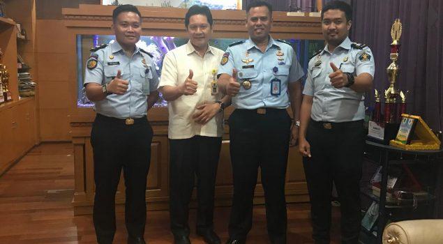 Kalapas Narkotika Palembang Sambangi BLKI & Dinkes Sumsel