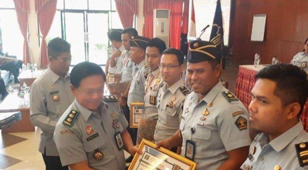 Lapas Narkotika Palembang Raih Penghargaan Pengelolaan Keuangan & BMN