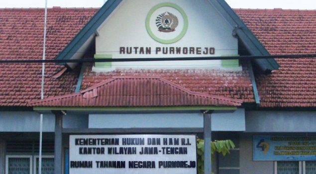 Kakanwil Jateng Bebastugaskan CAS dari Jabatan Karutan Purworejo