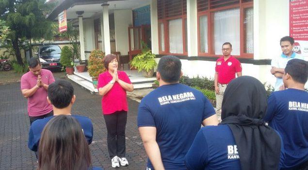 Latihan Fisik Bentuk Mental & Fisik CPNS Bapas Denpasar