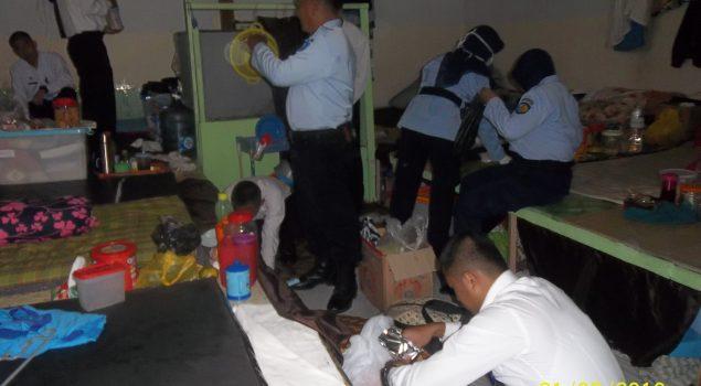 CPNS Mulai Dilibatkan dalam Penggeledahan Lapas Yogya
