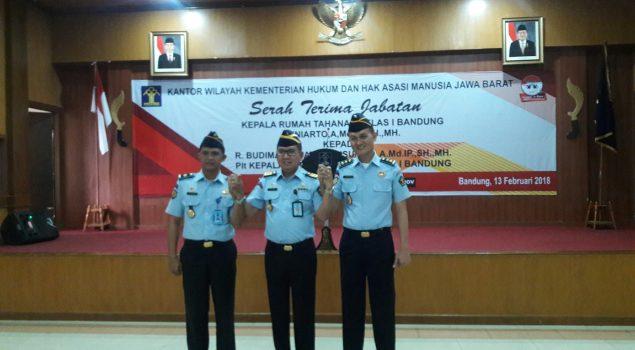 Kepala Rupbasan Bandung Jadi Plt. Karutan Bandung