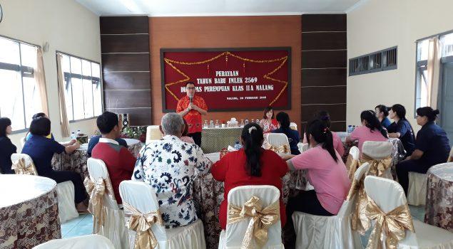 WBP Tiongkok Rayakan Imlek di Lapas Perempuan Malang