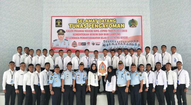 Launching Logo PASTI BETIK, Pelayanan Lapas Gunung Sugih Semakin Prima