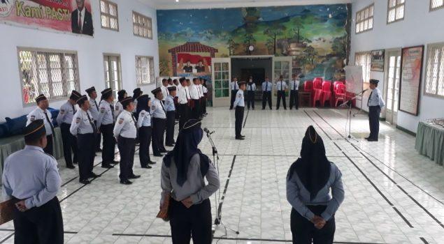 Kepala LPKA Blitar Ajak CPNS Ukir Prestasi