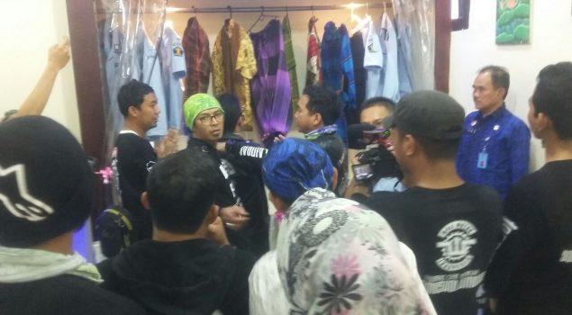Rutan Rangkasbitung Resmikan Barbershop & Tailor Bersama Wali Band