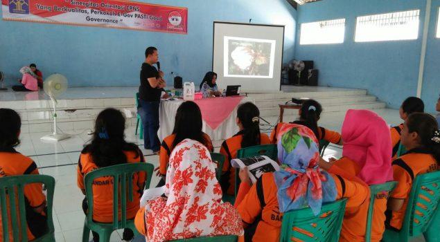 WBP Lapas Perempuan Lampung Ikuti Pelatihan Laundry