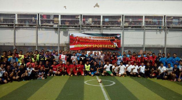 Petugas PAS se-Bandung Raya Bangun Kebersamaan Lewat Futsal