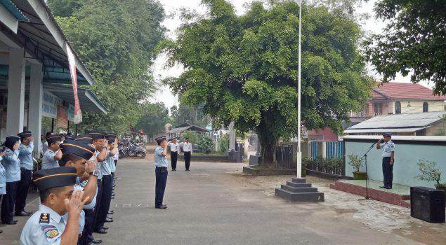 CPNS LPKA Martapura Pimpin Ikrar & Tri Dharma Petugas Pemasyarakatan
