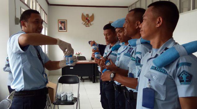 Tes Urin Buktikan CPNS LPKA Lampung Negatif Narkoba
