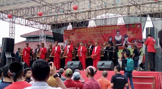 Pentas Seni WBP se-Banten Guncang Lapas Pemuda Tangerang