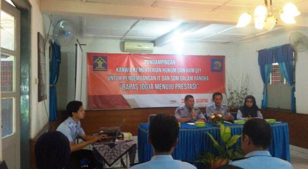 Pendampingan IT & SDM Persiapkan Launching Layanan Publik di Bapas Yogya