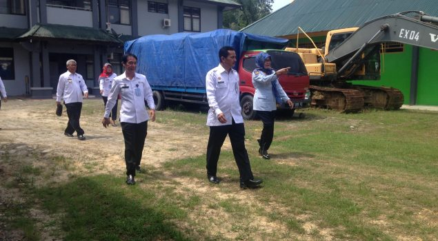Inspektur Wilayah II Sambangi Rupbasan Kendari