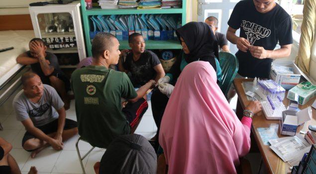 Screening Kesehatan Cegah Penyakit di Lapas Narkotika Sungguminasa