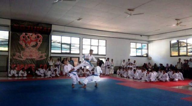 Dojo Karatedo Gojukai Lapas Diresmikan, Ini Harapan Kalapas Palopo