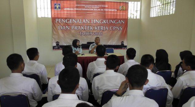 Keberadaan CPNS Tambah Kekuatan Lapas Yogyakarta