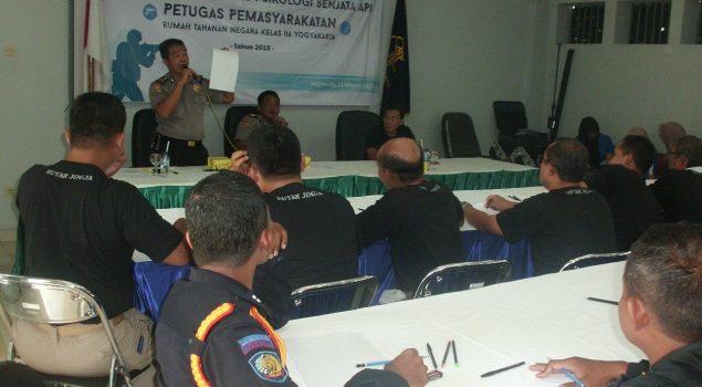 Puluhan Petugas Rutan Yogya Ikuti Psikotes Penggunaan Senpi