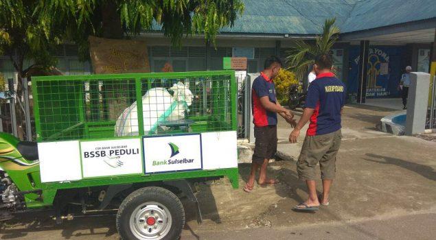 """Rutan Majene Sumbang """"Bank Sampah"""" Untuk Relawan Siaga 86"""