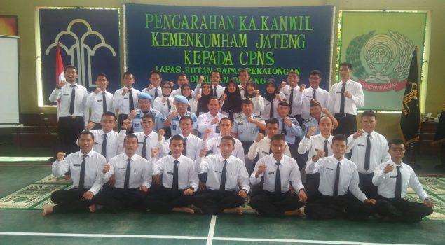 Kakanwil Jateng Tanamkan Integritas pada Tunas Muda Pengayoman