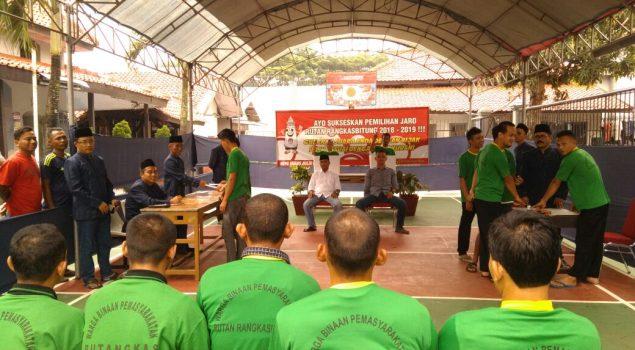 Rutan Rangkasbitung Gelar Pemilihan Jaro 2018