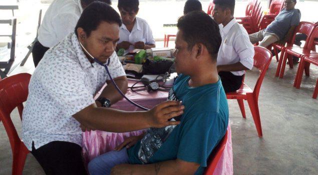 Gandeng Puskesmas, Cabrutan Dobo Tingkatkan Kesehatan WBP