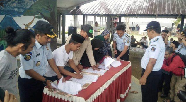 MoU Boyang Malaqbi Pustaka Lapas Polewali dengan Penggiat Literasi se-Sulawesi Barat