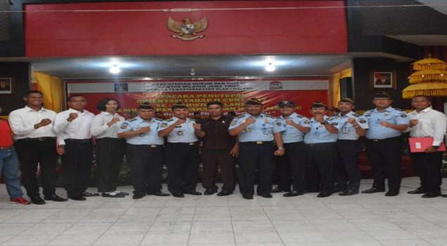Lapas Malang Dapat Tambahan 74 Petugas Pengamanan