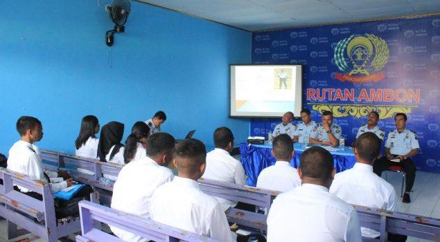 CPNS Rutan Ambon Diminta Jaga Integritas & Jauhi Pungli