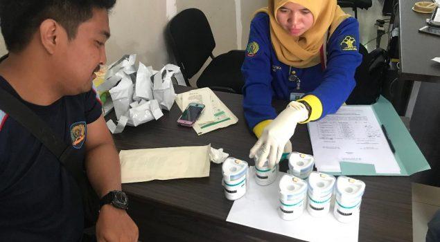 Sebelum PB, WBP Lapas Narkotika Palembang Jalani Tes Urin