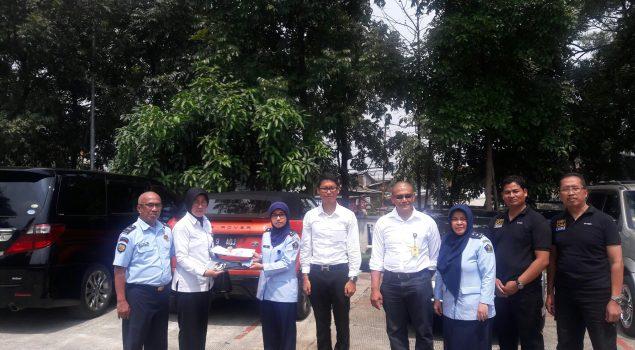 Rupbasan Bandung Simpan 7 Kendaraan Roda 4 Titipan Polda Jabar